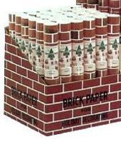 Brick Corrugated Brick Paper Display (24''x5' Roll) (36/Display)