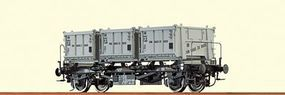 Brawa Container Car BTs 30 DB - O-Scale