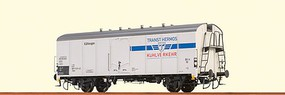Brawa Type UIC Standard 1 Refrigerator Car - Ready to Run Interfrigo/Chiquita #11 84 803 1 305-5 P (Era IV, white, silver, blue, yello - N-Scale