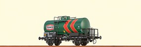 Brawa 2-Axle Tank Car - Ready to Run Texaco #28 80 000 1 375-3 P (Era IV, green, red) - O-Scale