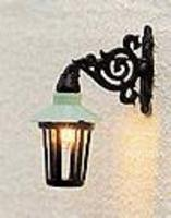 Brawa Hanging Lantern Light Wall-Mounted HO Scale Model Railroad Street Light #5352