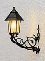 Brawa Nuremberg Lantern Light Wall-Mounted HO Scale Model Railroad Street Light #5357