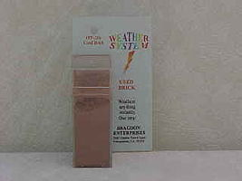 Brag 2oz. Large Weathering Color Used Brick