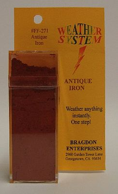 Brag 2oz. Large Weathering Color Antique Iron