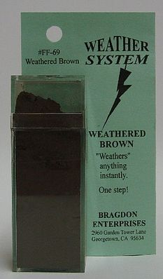 Brag 2oz. Large Weathering Color Weathered Brown