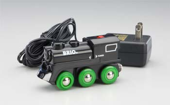 Brio 4-Wheel Rechargeable Engine w/Headlights