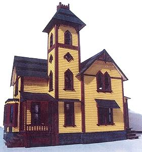 Branchline Victorian Classics - Tower House O Scale Model Railroad Building #401