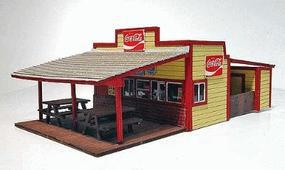 Branchline Commercial Buildings - Burger Stand O Scale Model Railroad Building #446