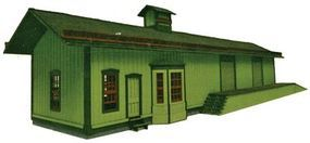 Branchline Laser-Art Munns Station Kit O Scale Model Railroad Building #467