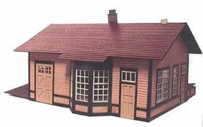 Branchline Laura Illinois Station - O-Scale