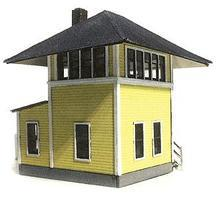 Branchline Ellinor Interlocking Tower Laser Art Kit O Scale Model Railroad Building #469