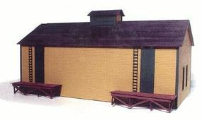 Branchline Trackside Structures - Ice House Kit O Scale Model Railroad Building #481