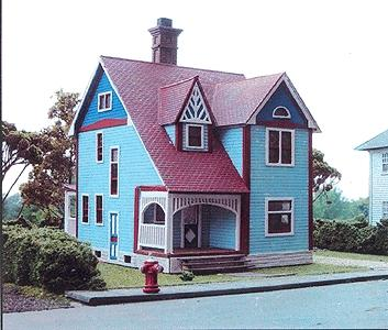 Branchline Victorian Classics - The Woodward House Kit HO Scale Model Railroad Building #618