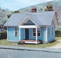 Branchline The Stanley Catalog House - Laser-Art Kit HO Scale Model Railroad Building #628