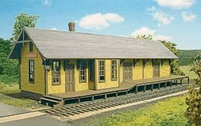 Branchline Tool House/Baggage Building #2 Set 2-Building Set Kit HO Scale Model Railroad Building #656