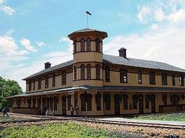 Branchline Canaan Union Station Laser Art Kit (22 x 20 x 7) HO Scale Model Railroad Building #659
