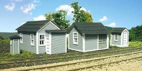 Branchline Shed Pack Laser Art Structure Kit HO Scale Model Railroad Building #671