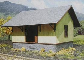 Branchline Small Pennsy Freight House Laser-Art Kit HO Scale Model Railroad Building #690