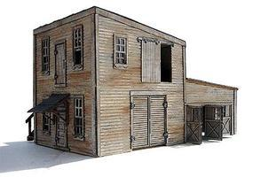 Branchline Dan's Welding & Fabrication Laser-Art Kit HO Scale Model Railroad Building #691