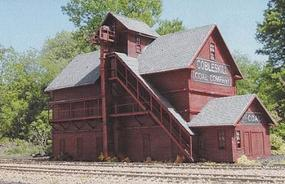 Branchline Cobleskill Coal Laser Art Kit (12 x 5 x 7-1/2) HO Scale Model Railroad Building #698