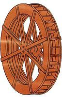 Branchline Grist Mill Water Wheel - Kit (Laser-Cut Wood) HO Scale Model Railroad Building #788