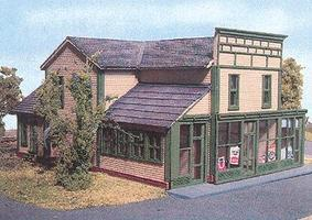 Branchline Roscoe Store Laser-Art Kit N Scale Model Railroad Building #843