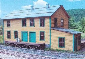 Branchline Creamery Kit (Laser-cut Wood) N Scale Model Railroad Building #880