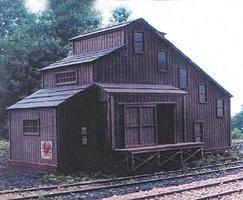 Branchline Flour Mill Laser-Art Kit N Scale Model Railroad Building #886
