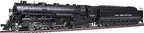 Broadway J1e 4-6-4 w/PT-4 Tender, Scullin Drivers NYC HO Scale Model Train Steam Locomotive #1355