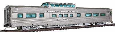 Broadway Limited Imports California Zephyr Vista Dome Car C,B,&Q #4722 -- HO Scale Model Train Passenger Car -- #1494
