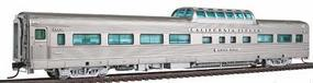 Broadway California Zephyr Vista Dome Car C,B,&Q #472 HO Scale Model Train Passenger Car #1497