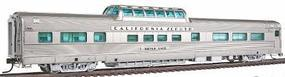 Broadway California Zephyr Vista Dome Car Western Pacific #814 HO Scale Model Train Passenger Car #1499