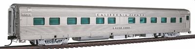 Broadway Limited Imports California Zephyr 10-6 Sleeper D&RGW -- HO Scale Model Train Passenger Car -- #1512