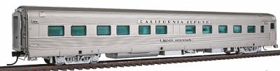 Broadway Limited Imports California Zephyr 10-6 Sleeper - Western Pacific -- HO Scale Model Train Passenger Car -- #1514