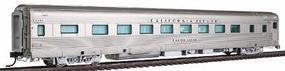 Broadway California Zephyr 16 Section Sleeper C,B,&Q HO Scale Model Train Passenger Car #1519