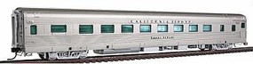 Broadway California Zephyr 16 Section Sleeper Western Pacific HO Scale Model Train Passenger Car #1521
