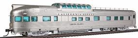 Broadway California Zephyr 1-3 Vista Dome Western Pacific HO Scale Model Train Passenger Car #1530