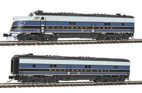 Broadway EMD E6 A/B Baltimore & Ohio 59 59X with Sound N Scale Model Train Diesel Locomotive #1651