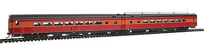 Broadway Limited Imports Southern Pacific '41 Coast Daylight Articulated Chair -- HO Scale Model Train Passenger Car -- #1770