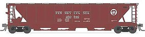 Broadway H32 5-Bay Covered Hopper Pennsylvania Railroad Set A HO Scale Model Train Freight Car #1880