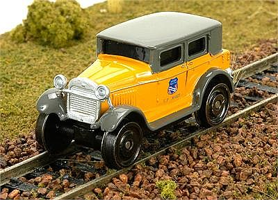 Broadway Limited Imports 1929 Track Inspection Sedan Union Pacific -- HO Scale Model Train Passenger Car -- #1911