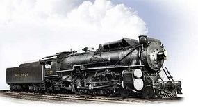 Broadway Class I-4-e 4-6-2 Pacific W-12-c Tender New Haven HO Scale Model Train Steam Locomotive #1936