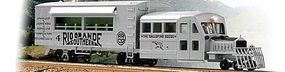 Broadway Galloping Goose Railcar Paragon2 Rio Grande Southern O Scale Model Train Passenger Car #1966