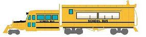Broadway Galloping Goose Railcar Paragon2(TM) - School Bus O Scale Model Train Passenger Car #1971