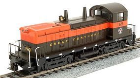 Broadway EMD NW2 DCC Paragon2(TM) - Great Northern #159 HO Scale Model Train Diesel Locomotive #2111