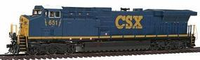 Broadway GE AC6000CW w/Sound & DCC CSX #651 HO Scale Model Train Diesel Locomotive #2128