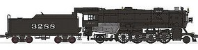 Broadway USRA Heavy Mikado 2-8-2 Powered w/Sound DCC AT&SF HO Scale Model Train Steam Locomotive #2150