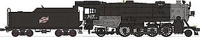 Broadway USRA Heavy Mikado 2-8-2 Chicago and North Western HO Scale Model Train Steam Locomotive #2153