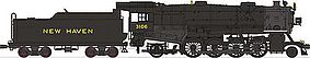 Broadway USRA Heavy Mikado 2-8-2 DCC New Haven #3106 HO Scale Model Train Steam Locomotive #2157
