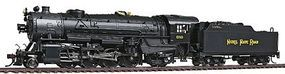 Broadway USRA Heavy Mikado 2-8-2 DCC Nickel Plate Road HO Scale Model Train Steam Locomotive #2158